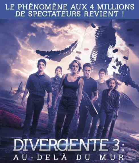 Divergente 3 : Au-delà du mur réalisé par Robert Schwentke