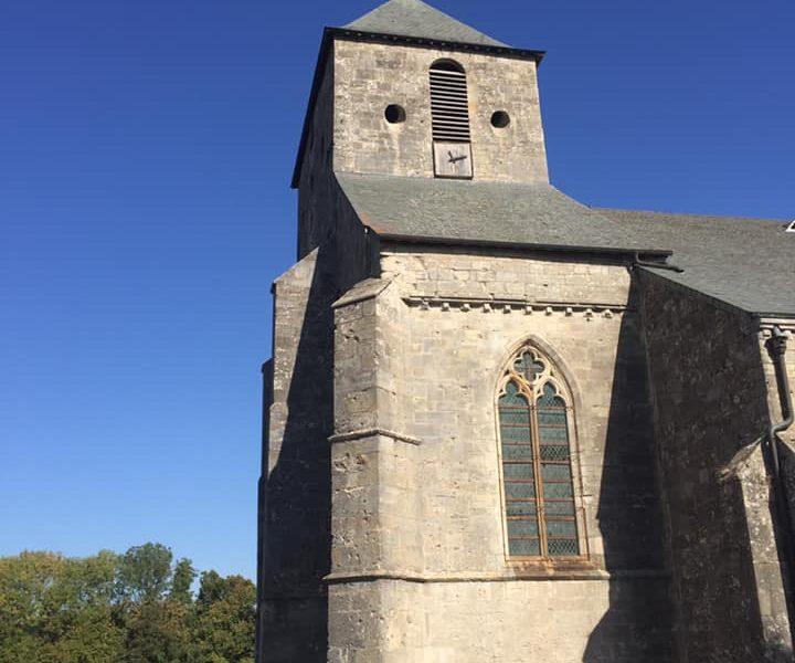 L'Église Notre-Dame de Bonne Garde de la Ville Haute de Dun dans la Meuse