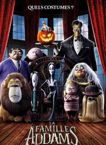 La Famille Addams réalisé par Conrad Vernon et Greg Tiernan