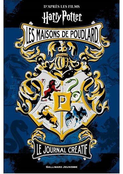 Harry Potter : Le journal créatif – Les maisons de Poudlard
