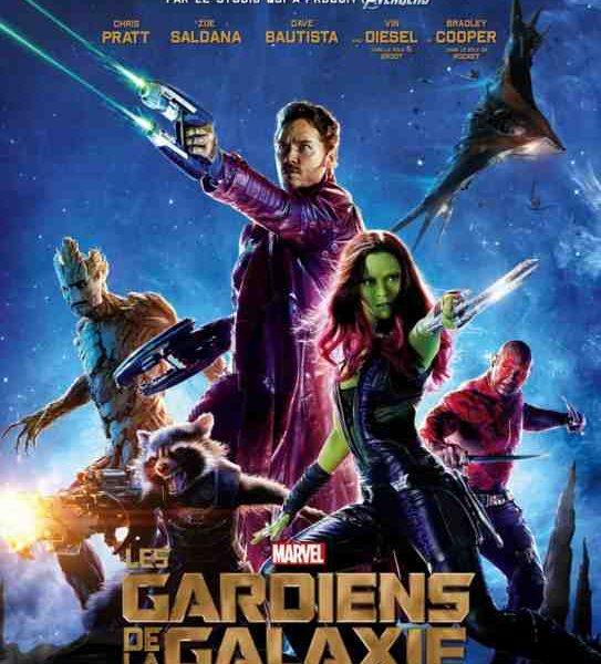 Les Gardiens de la Galaxie réalisé par James Gunn