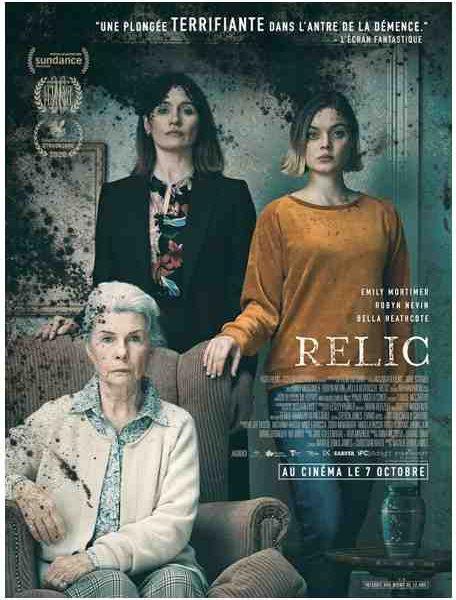 Concours Cinématographique – Gagnez 5 places pour Relic réalisé par Natalie Erika James
