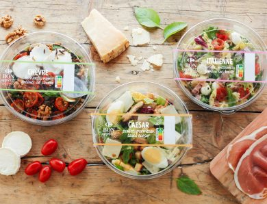 Carrefour propose de délicieuse salade pour votre pause déjeuner