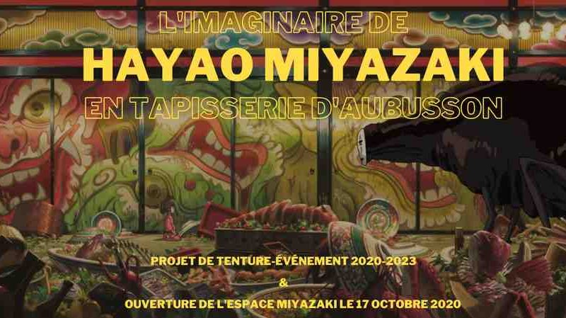Hayao Miyazaki à l'honneur à Aubusson !