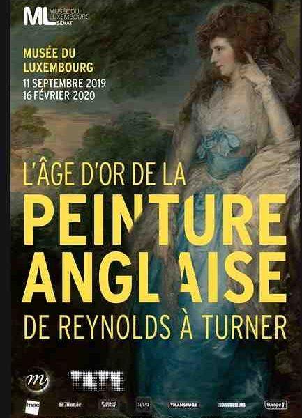 L'âge d'or de la peinture Anglaise au Musée du Luxembourg à Paris