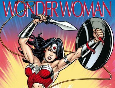 La grande imagerie des super-héros : Wonder Woman écrit par Jacques Beaumont et Sabine Boccador