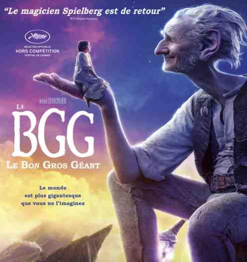 Le Bon Gros Géant réalisé par Steven Spielberg