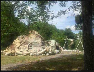 Le Paléosite à Saint-Césaire en Nouvelle Aquitaine