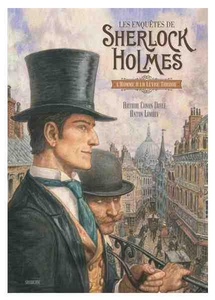 Les enquêtes de Sherlock Holmes : L'homme à la lèvre tordue d'Arthur Conan Doyle et Anton Lomaev