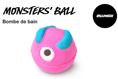Monster Ball Lush pour Halloween 2020