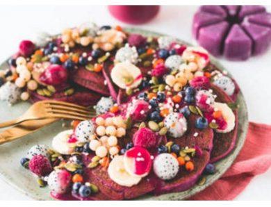 Pancakes Roses