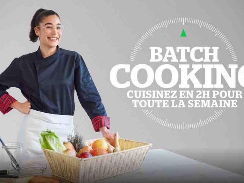 Batch Cooking sur Téva