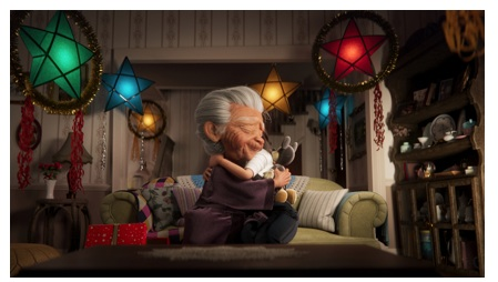 Disney – Le court-métrage d'animation Noël 2020 !