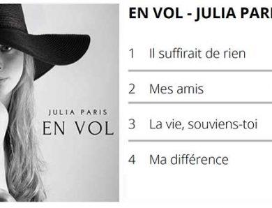 En Vol, le 1er album de Julia Paris