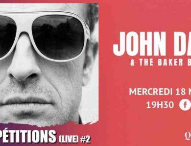 John Dark and The Baker Boys en e-spectacle dans votre salon depuis le bar-théâtre la Quincaillerie des Herbiers (Vendée)