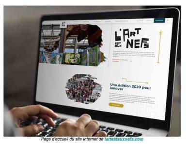 Nantes : L'Art est aux Nefs devient virtuel pour Noël