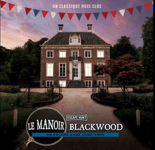 L'escape game le manoir Blackwood d'Escape Hunt s'installe chez vous