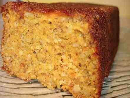 Le gâteau aux carottes adapté de Pierre Hermé