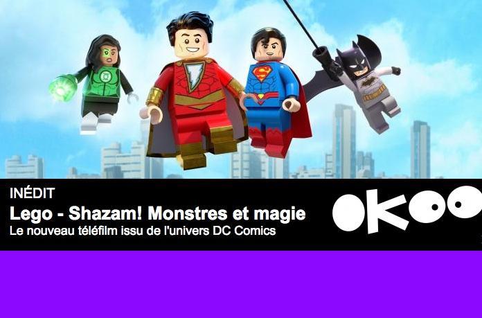 Lego Shazam! Monstres et magie à 21h05 sur France 4