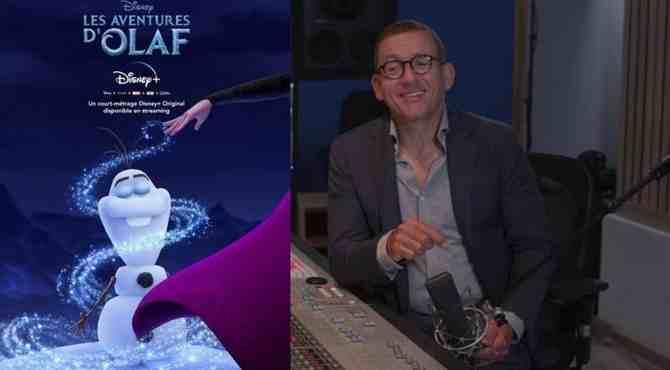 Dany Boon retrouve Olaf : vidéo !