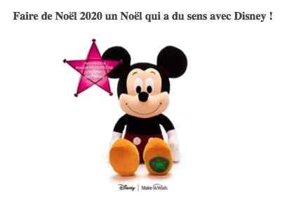 Sélection cadeaux – Disney x Make-a-Wish : un Noël qui a du sens