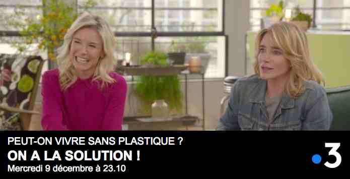 On a la solution ! Peut-on vivre sans plastique ? sur France 3