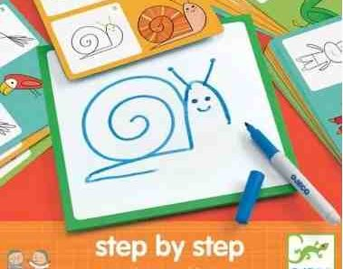 Step by step Animals and Co de Djeco