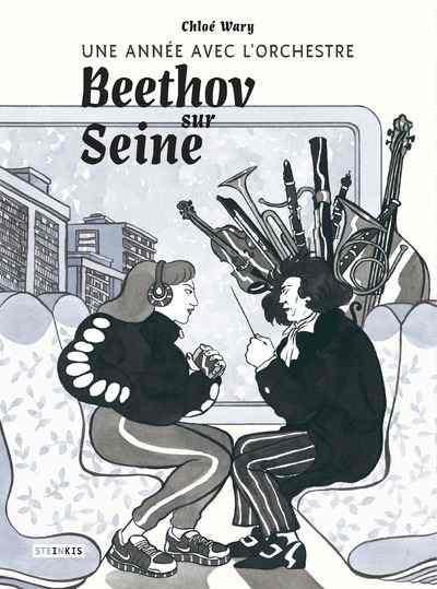 Une année avec l'orchestre Beethov sur Seine de Chloé Wary