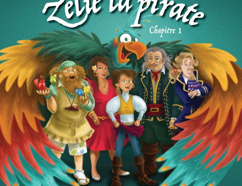Le livre audio Zeli, la Pirate