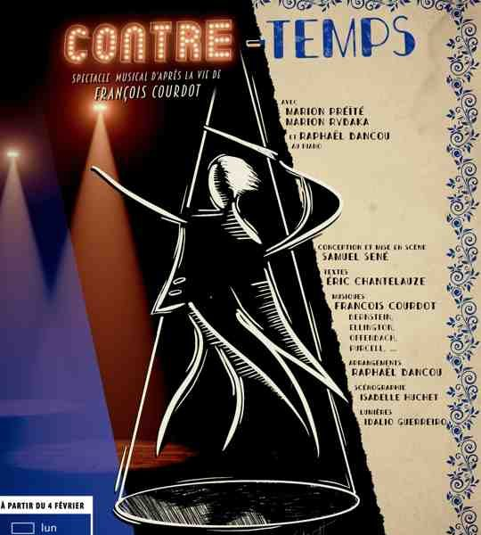 Contre-Temps, spectacle musical au Studio Hébertot à Paris