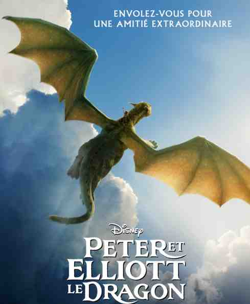 Peter et Elliott le Dragon réalisé par David Lowery