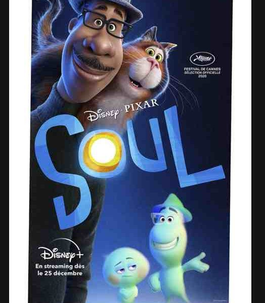 Soul réalisé par Pete Docter et Kemp Powers