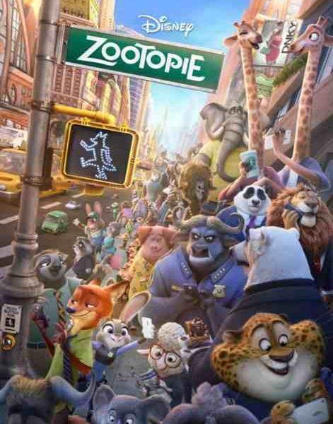 Zootopie réalisé par Byron Howard, Jared Bush et Rich Moore