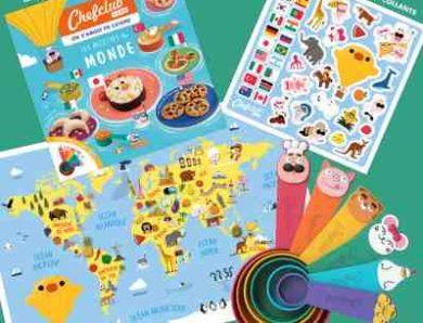 ChefClub Kids propose aux enfants dès 4 ans des recettes à leur portée