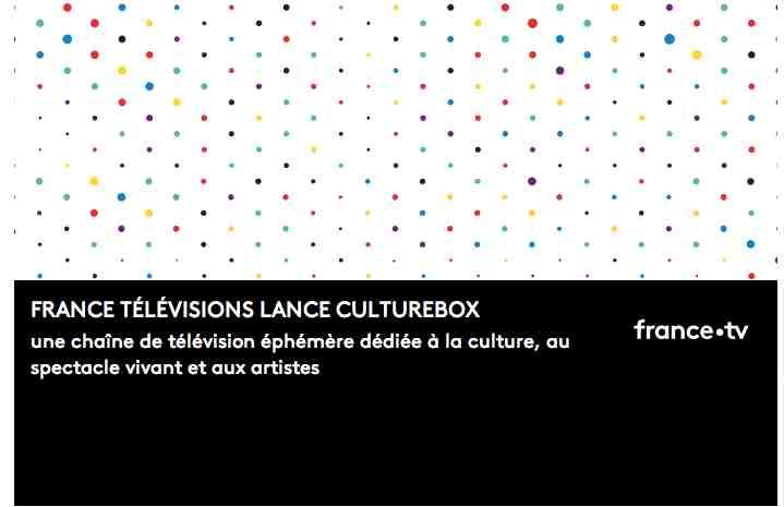 France Télévisions lance la chaine culturelle CultureBox