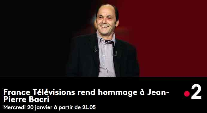 France 2 rend hommage à Jean-Pierre Bacri