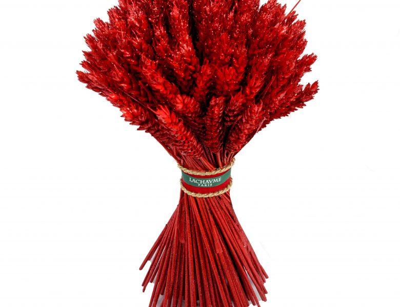 Le bouquet de blé rouge Lachaume pour la Saint-Valentin 2021