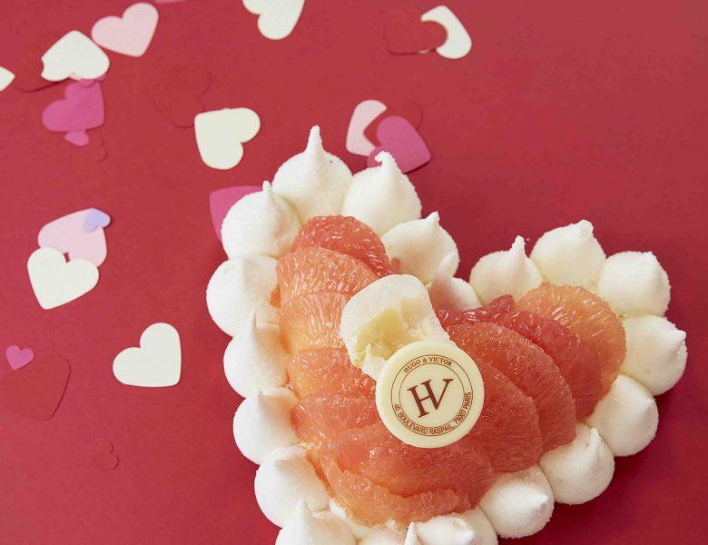 La pavlova de la Maison Hugo & Victor pour la Saint-Valentin 2021