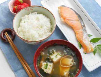 Le petit-déjeuner Japonais