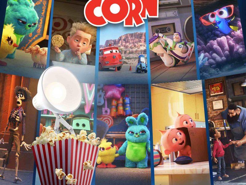 Les personnages iconiques des studios Pixar sont de retour dans Pixar Popcorn sur Disney+