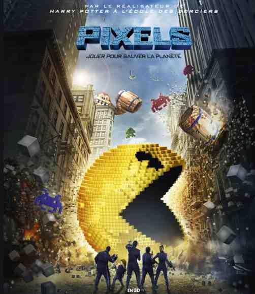 Pixels réalisé par Chris Columbus