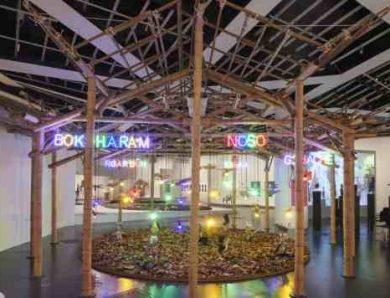 Vernissage d'Ex Africa, présences Africaines dans l'art aujourd'hui (Exposition du Musée du Quai Branly) sur CultureBox