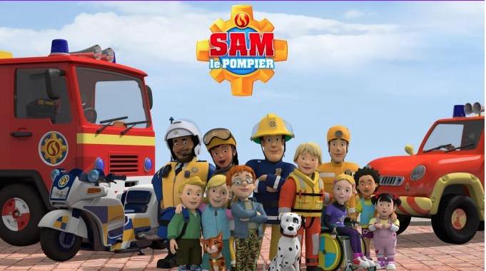 Sam le Pompier à 7h30 sur France 5