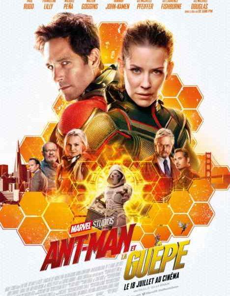 Ant-Man et la guêpe réalisé par Peyton Reed
