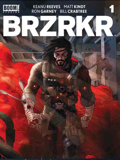 Netflix annonce l'adaptation en film à prise de vues réelles de BRZRKR, la bande dessinée créée par Keanu Reeves, dans laquelle il jouera et qu'il produira