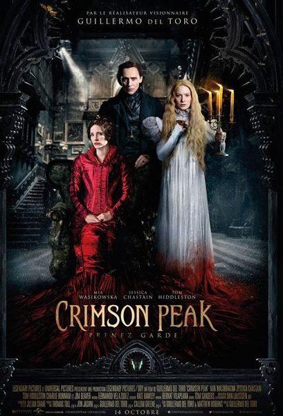 Crimson Peak réalisé par Guillermo del Toro