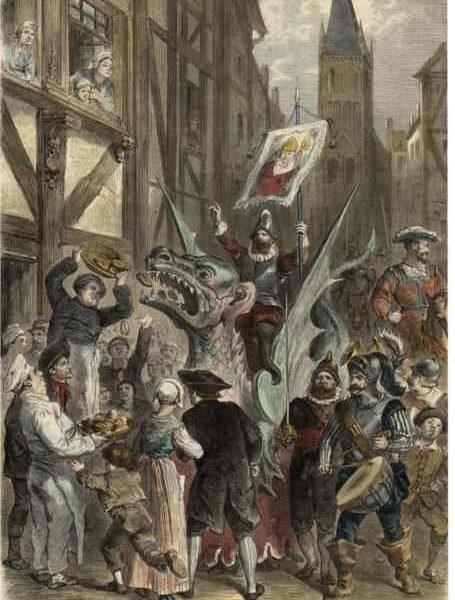 La légende de Graoully, le dragon de Metz
