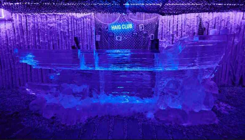 Ice Kube Bar : l'unique Bar de Glace de Paris !