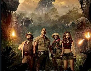 Jumanji : Bienvenue dans la Jungle réalisé par Jake Kasdan