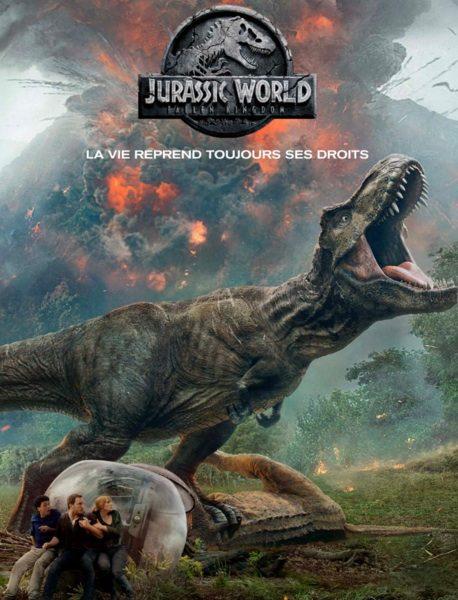 Jurassic World II : Fallen Kingdom réalisé par J.A. Bayona